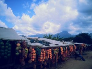 Roadside fruit stall